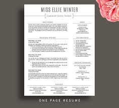 teacher resume template for word  amp  pages  resume cover letter      teacher resume template for word  amp  pages  resume cover letter   free resume writing tips