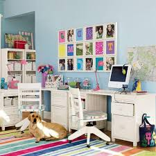 kids office ideas modern decoration kids room bedroom with design wall blue floor wood carpet motive awesome home office decorating fabulous interior