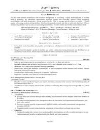 staff accountant sample resume sample resume  staff accountant sample resume