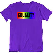 Equality <b>Rainbow</b> Pride Boxed <b>Colors Men's</b>/<b>Unisex</b> T-Shirt | Shirt ...