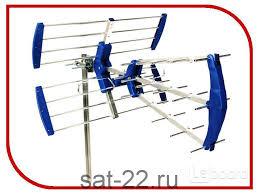 <b>Антенна LUMAX DA2510P</b>, <b>наружная</b>, пассивная, 17 дБ, DVB-T ...