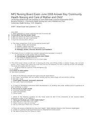 np2 nursing board exam 2008 answer key nursing pregnancy