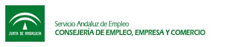Resultado de imagen para logo servicio andaluz de empleo