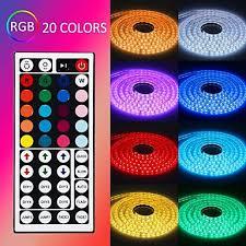 <b>ZDM 5M</b> 300 x 5050 10mm RGB <b>LED Strips</b> Light Flexible and IR ...