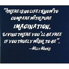 Amazon.com - Willy Wonka quote 22x20 wall saying quotes vinyl ... via Relatably.com