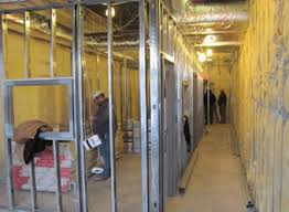 Innovative Interior  North East Ohio Metal Stud Framing