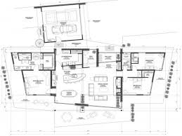 Modern Home Layout Modern Mountain Home Floor Plans  contemporary