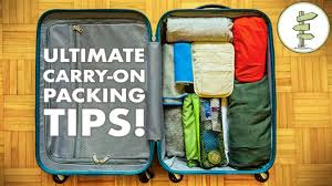 Minimalist <b>Packing</b> Tips & Hacks - <b>Travel</b> Light With Only Carry-On ...
