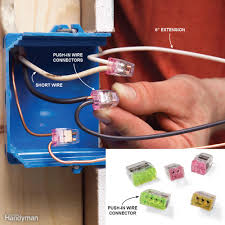 code bathroom wiring: mistake  cutting wires too short