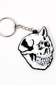 Брелок <b>MISHKA Cyco</b> Bootle Rubber Keychain (White) | www.gt-a.ru