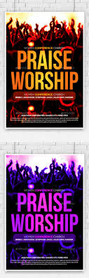 praise and worship church flyer by anaya graphicriver praise and worship church flyer church flyers