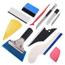 <b>FOSHIO</b> Window Tint Tool Kit Vinyl <b>Car Wrap</b> Stickers Tool Set Auto ...
