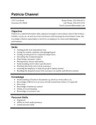 high school resume template samples     warehouse position