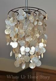 diy capiz chandelier capiz shell lighting fixtures