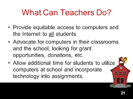 Image result for how to ensure equitable digital access in the classroom