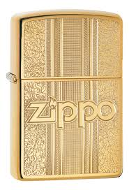 <b>Зажигалка Classic Pattern Design</b> 29677 (золотистая) от Zippo ...