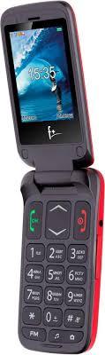 Мобильный <b>телефон F+ Ezzy</b> Trendy1 (красный)