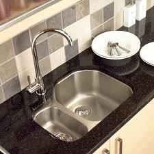 undermount kitchen sink stainless steel: image of model of undermount kitchen sink