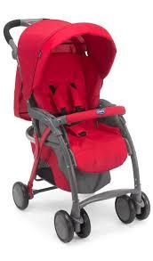 <b>Коляска прогулочная Chicco Simplicity</b> Plus Top цвет красный ...