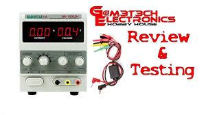 Baku <b>1502d+ DC Power Supply</b> Testing & Review - YouTube