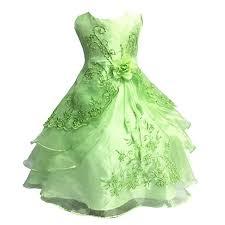 Eagsouni Girls Flower <b>Embroidered Dress Princess</b> Layered <b>Formal</b> ...