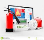 Fire and burglar alarm