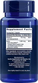 <b>Vitamin D3 with Sea-Iodine</b>™, 60 capsules - Life Extension
