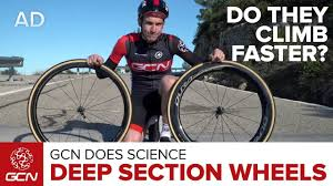 Do <b>Deep</b> Section Wheels Climb Faster? | GCN Does Science ...
