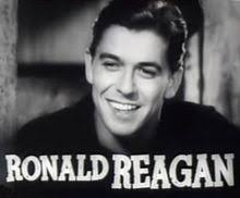 Showing (19) Pics For Ronald Reagan 1980. - 220px-Ronald_Reagan_in_Cowboy_From_Brooklyn_trailer