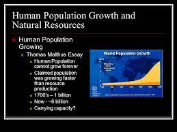 essay on human population  wwwgxartorg human impact on ecosytems chapter human population growth and human population growth and natural resources human