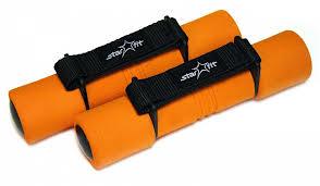 <b>Гантель</b> для бега <b>StarFit DB</b>-<b>203</b> 1 кг, <b>DB</b>-<b>203</b>-<b>1kg</b>-orange ...