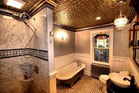 tile design patterns cover washroom walls