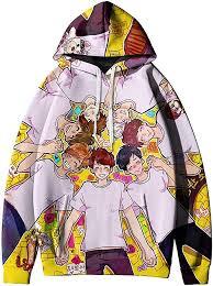 NBBZ Kpop <b>BTS</b> Unisex Hoodie 3D Digital <b>Printing</b> Sweatshirt at ...