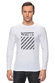 <b>Лонгслив Off</b> white #3238150 от ZoZo по цене 890 руб. в Москве ...