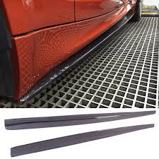 2019 V Z Style <b>Carbon Fiber Side</b> Skirts Fit For BMW <b>E82</b> 1M From ...