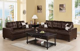 Two Loveseat Living Room Liuboml 2 Pieces Living Room Set Upholstered In Bonded Leather