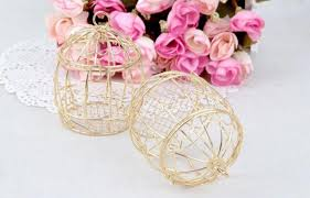 <b>Hot</b> Gold Matel Wedding Favor Box <b>European Creative</b> Romantic ...