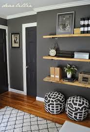 great colors and shelving for a guys room benjamin moore kendall charcoal on the walls amazing living room color