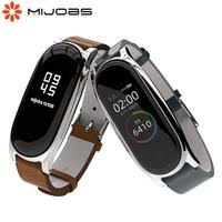 <b>Mijobs for Mi Band 4</b> Strap Wrist Strap <b>for</b> Xiaomi Mi...