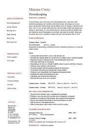 housekeeping resume  cleaning  sample  templates  job description    housekeeping resume  cleaning  sample  templates  job description  maintenance  carpets  skills