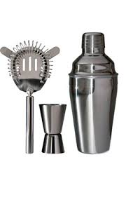 Buy Art <b>Bar set 3 pieces</b> Stainless steel | KitchenTime