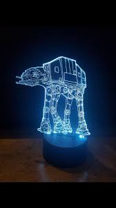 <b>LED</b> light up <b>3D</b> at at <b>star wars</b> display. 9 Colour options with remote ...