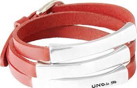 Купить широкий женский кожаный <b>браслет UNOde50</b> ...