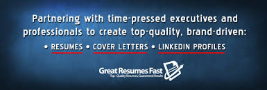 Executive Resume Writer   Executive Resume Writing Service   Great Resumes Fast LinkedIn