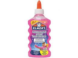 <b>Слайм Elmers Glitter</b> Glue для слаймов с блестками 177ml Pink ...