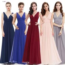 <b>Bridesmaid Dresses Ever Pretty</b> EP09016 Double V Burgundy ...