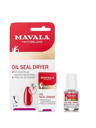 Сушка <b>фиксатор</b> лака с маслом 5ml Oil Seal dryer <b>Mavala</b> ...
