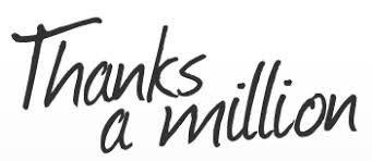 Image result for thanks a million