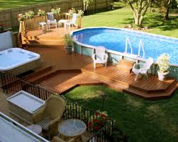 middle patio pool