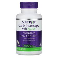 <b>Carb Intercept с</b> Phase 2 Carb Controller, 1000 мг, 60 ...